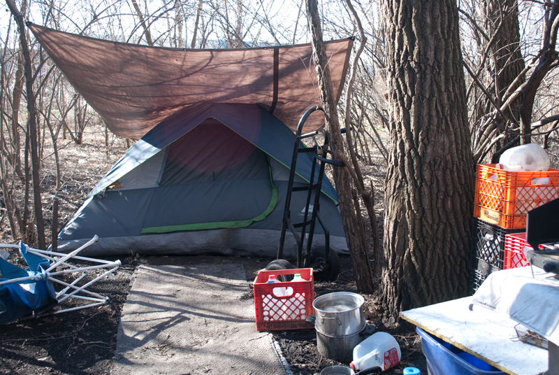 I never expected to find Indianapolis residents spending the winter in tents . & Dream | World Next Door