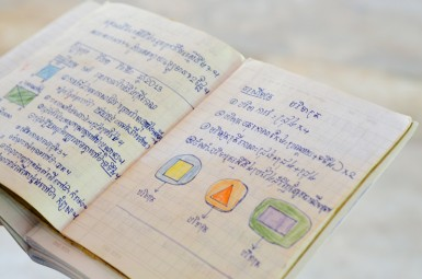 Kien Svay Kids is using the primary school as a gateway into the rest of the community by identifying the three lowest performing students in each class, visiting those families, and assessing their needs.