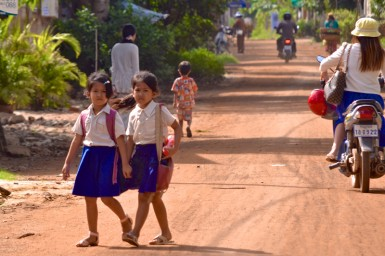In the community of Kien Svay, under-performing children face an uphill battle in school.