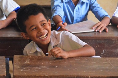 But thanks to the work of Kien Svay Kids, these children now have a chance to receive the education they deserve. Their future has never been brighter.