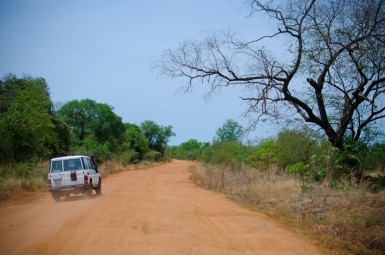 One of South Sudan's interstate highways.
