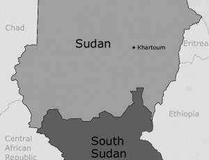 simple sudan map