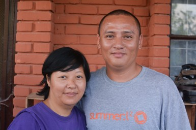 Raju and Gyanu Gurung, parents of the Bethany Home kids