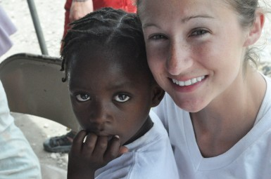 Visiting Haiti has changed Ashley's life. Photo by Kalen Ney