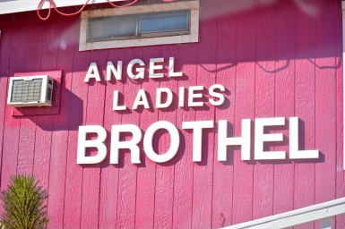The Angel Ladies Brothel in Nye County