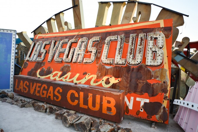 This was the first neon sign ever on a gambling establishment in Las Vegas and the second sign ever put up in the city. It dates back to 1930.
