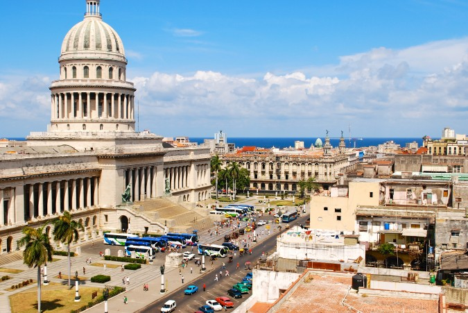 Havana's capitol building is one of the most prominent buildings in Cuba. Prior to the revolution it housed the Cuban Congress. However, when Fidel Castro dismantled Congress it became the headquarters of the Cuban Academy of Sciences and the National Library of Science and Technology.