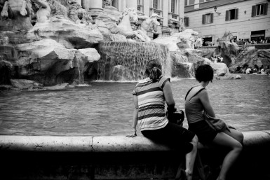 The photo of Trevi Fountain that so captivated José