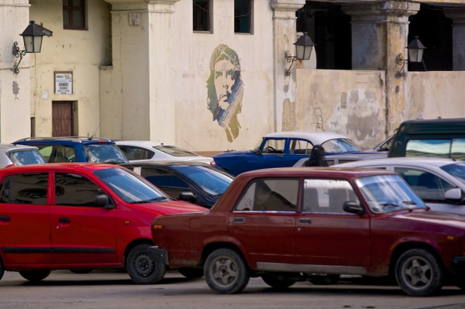 "Che Guevara is a major figure in the Cuban Revolution and has developed an almost god-like mystique since his death in 1967. Known simply as ""Che"", many consider him a martyr and a symbol of self-sacrifice. His iconic image is seen everywhere in Cuba, even in a random parking lot!"