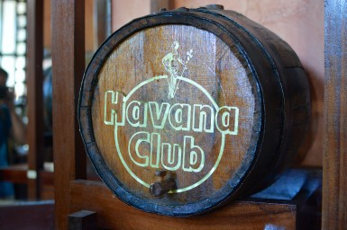 A barrel of the world famous Cuban Rum