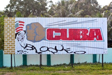 Today, anti-American sentiment is a common theme in Cuban propaganda.