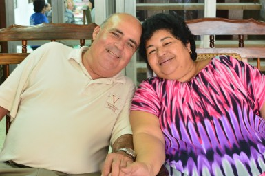 Abel and Isa happily married and living out their calling to spread the good news of Jesus