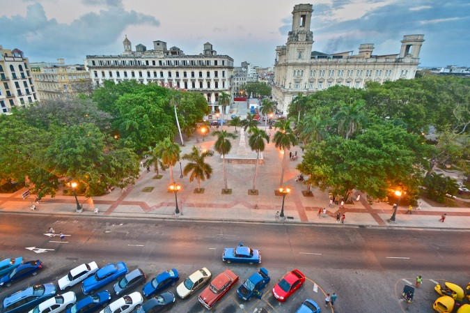 Located right in the heart of the city, locals and tourists alike gather in this scenic park. There is constant activity with kids playing and men arguing about the previous evening's baseball game. It is an enjoyable place to observe Havana at its finest.