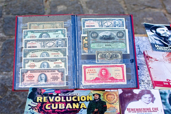 Pre-Revolution money, most of which is of no use today, can still be found circulating around the country. Shop owners sometimes slip these bills to unsuspecting tourists as change.