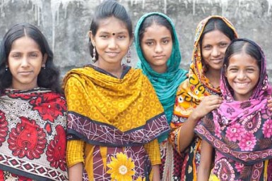 These girls aren't waiting for a solution, they are the solution to breaking the cycle of poverty.