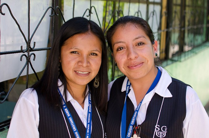 The teachers at Saber y Gracia have stepped into the role of parents to their students