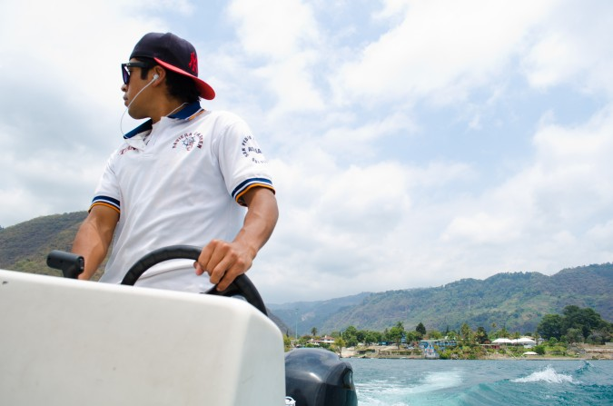 For Sergio, being a boat driver on Lake Atitlán would be extremely cool.