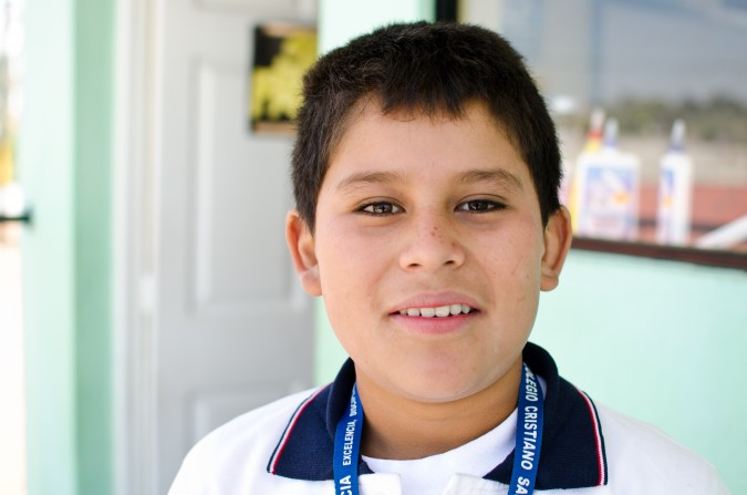 Pray for Kevin's brother, Diego, who is quite sick, his grandfather who has cancer, and his mother, who takes care of everyone but recently broke her finger.