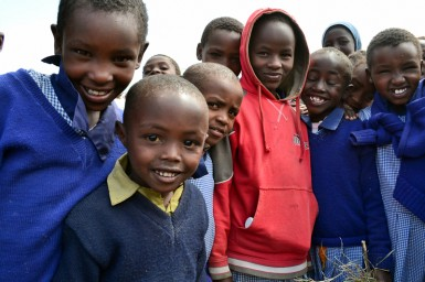 Children, like the ones that Tumaini works with, are full of potential and energy and hope for their future.