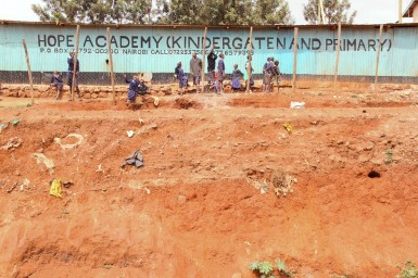 Hope Academy is a beacon of hope for the people of Kibera.