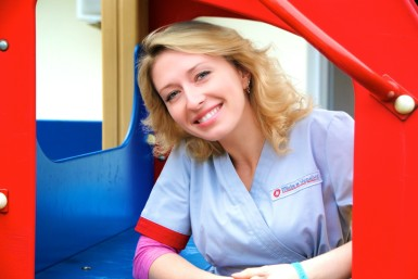 Olya is MTU's incredible occupational therapist