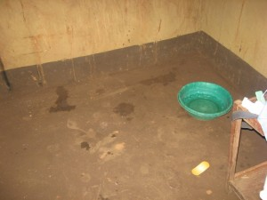 A Malawian birthing room.  No free HBO here.