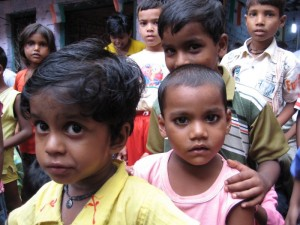 Millions of lower-caste children grow up believing that they can never ben anything but servants.