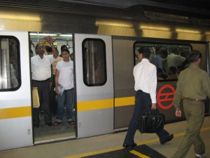 The Delhi Metro, after the chaos...