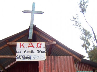 Pastor Muthoka's church is the epicenter of transformation in Gathanga.