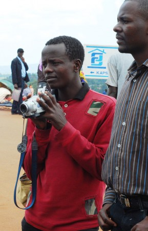 Armed with his cameras, Thome has big dreams for building a career in mass communication.