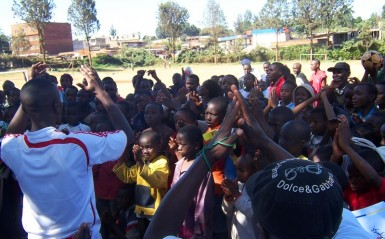 Through the ministry of KYSA, these kids are given a chance to avoid the dreaded Mungiki.