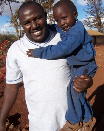 Barwaaqo's youngest brother beamed whenever someone picked him up.