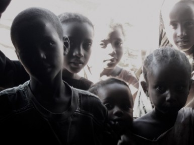 We found lots of hungry people, especially young faces, when we arrived in Marsabit.