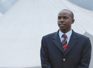 Pastor Simon of Mavuno Church has been advocating for integrity in the government for years and even ran for Parliament himself in 2002.  Now he is training new leaders to take up the crusade.