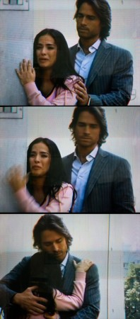 """A few frames from """"Un Gancho al Corazon"""" or """"A Punch in the Heart"""""""