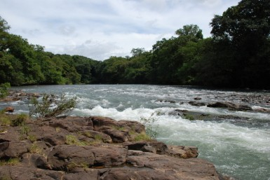 One of Panama's many breathtaking rivers.