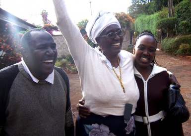 Before leaving Nairobi, Martha could hardly contain her excitement at seeing her dream finally realized.