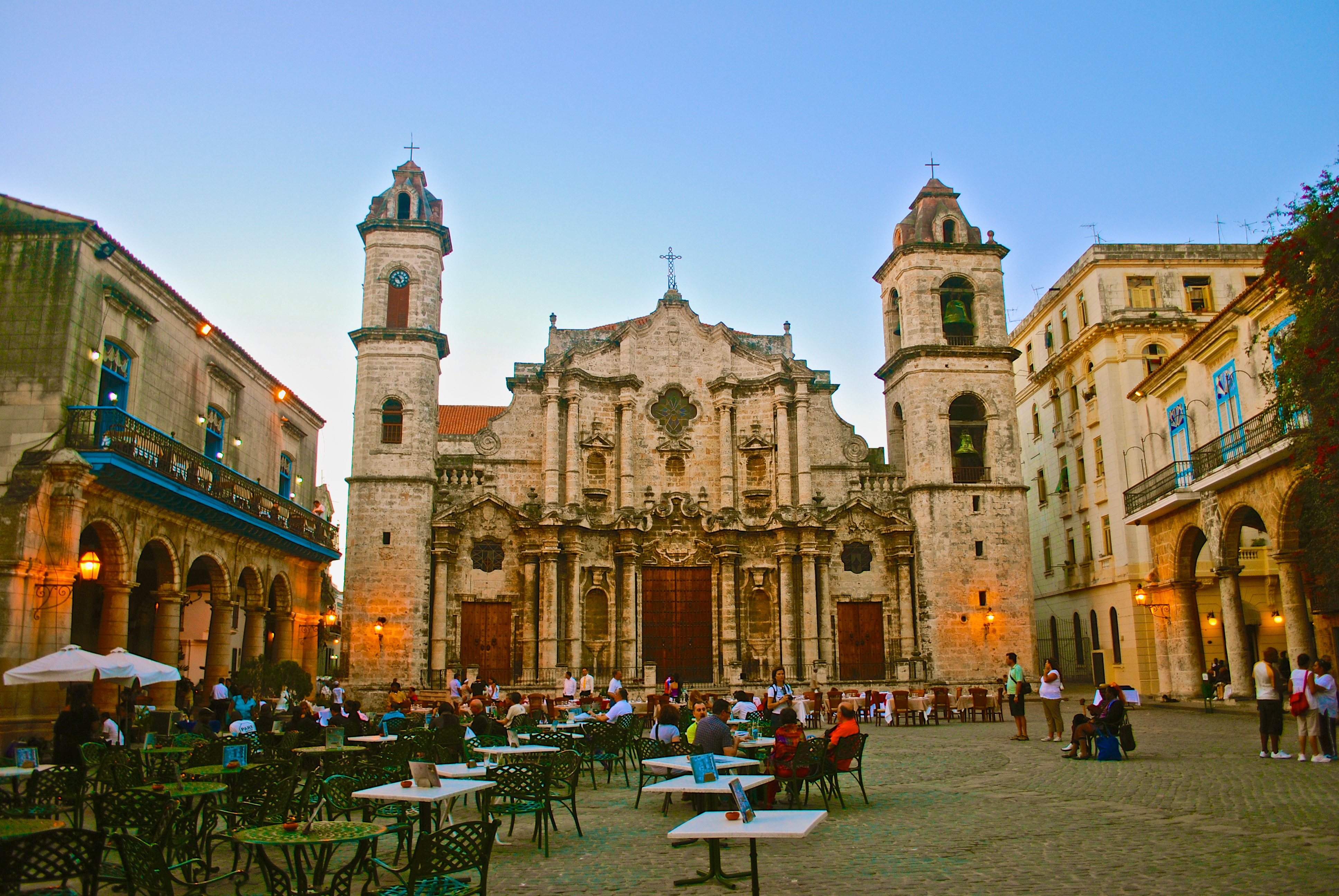 This plaza is one of 5 main squares in old havana many say it s the